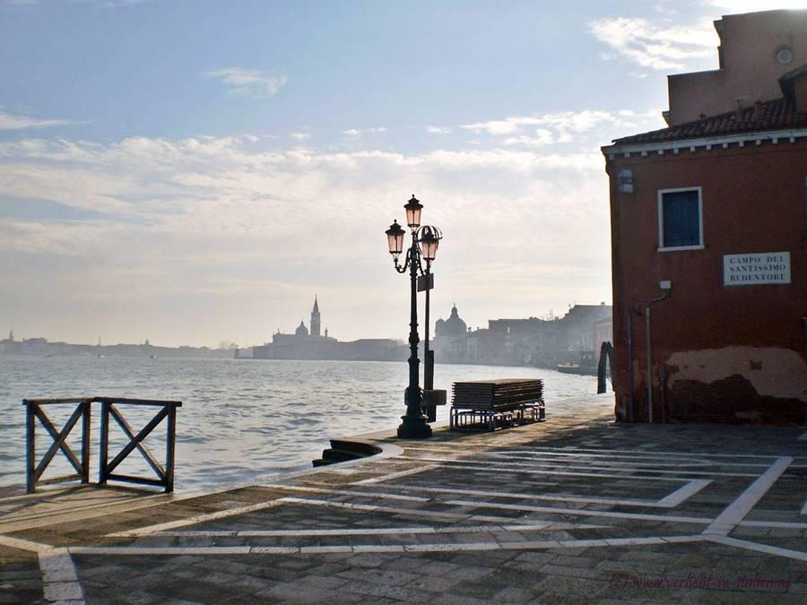 Zimmer mit Aussicht in Venedig-Giudecca