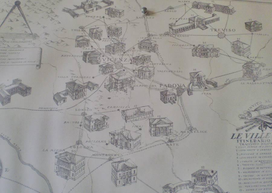 Lageplan Villen