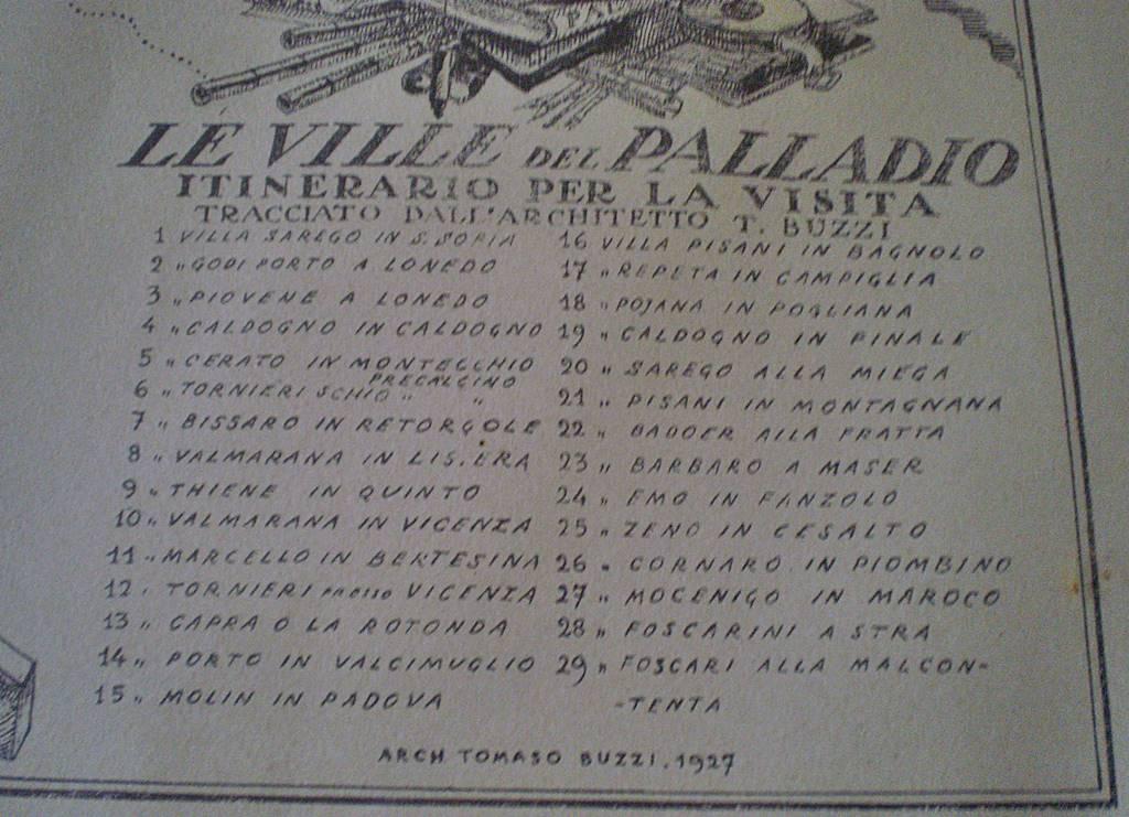 Palladio Villen