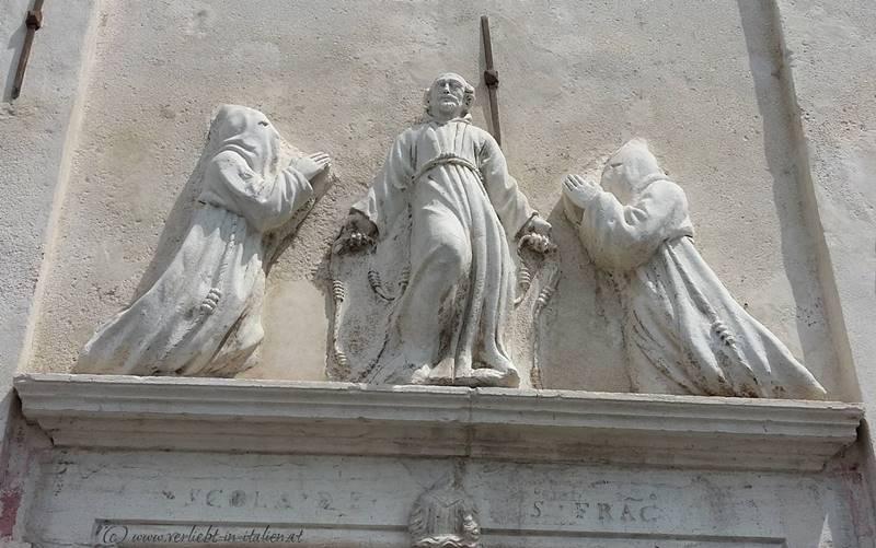 Chioggia Kirchenportal
