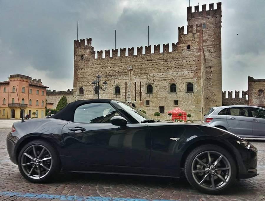 Marostica untere Burg