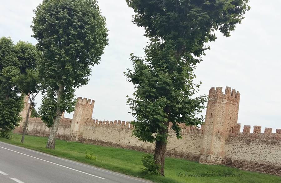 Montagnana Mauer