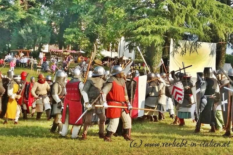 Die Ritter in San Zenone degli Ezzelini