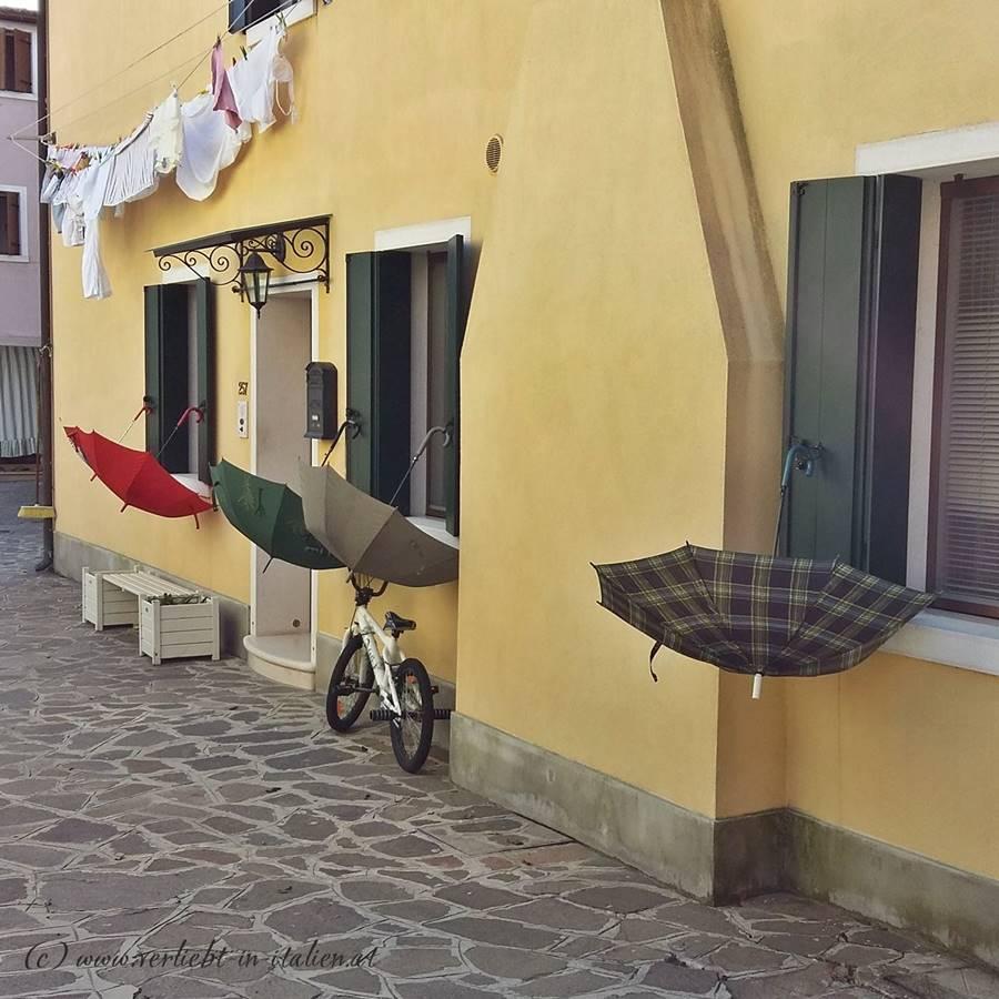 Burano - Schirme