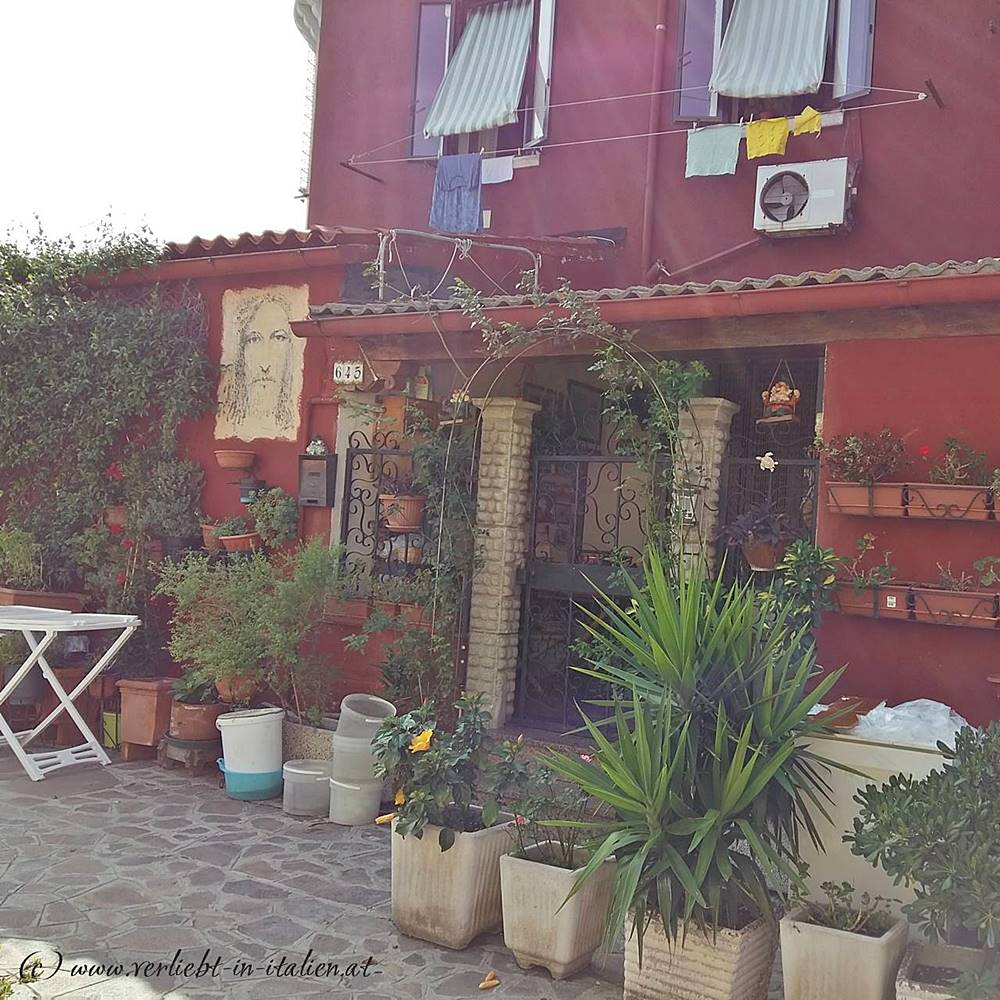 Burano - rotes Haus