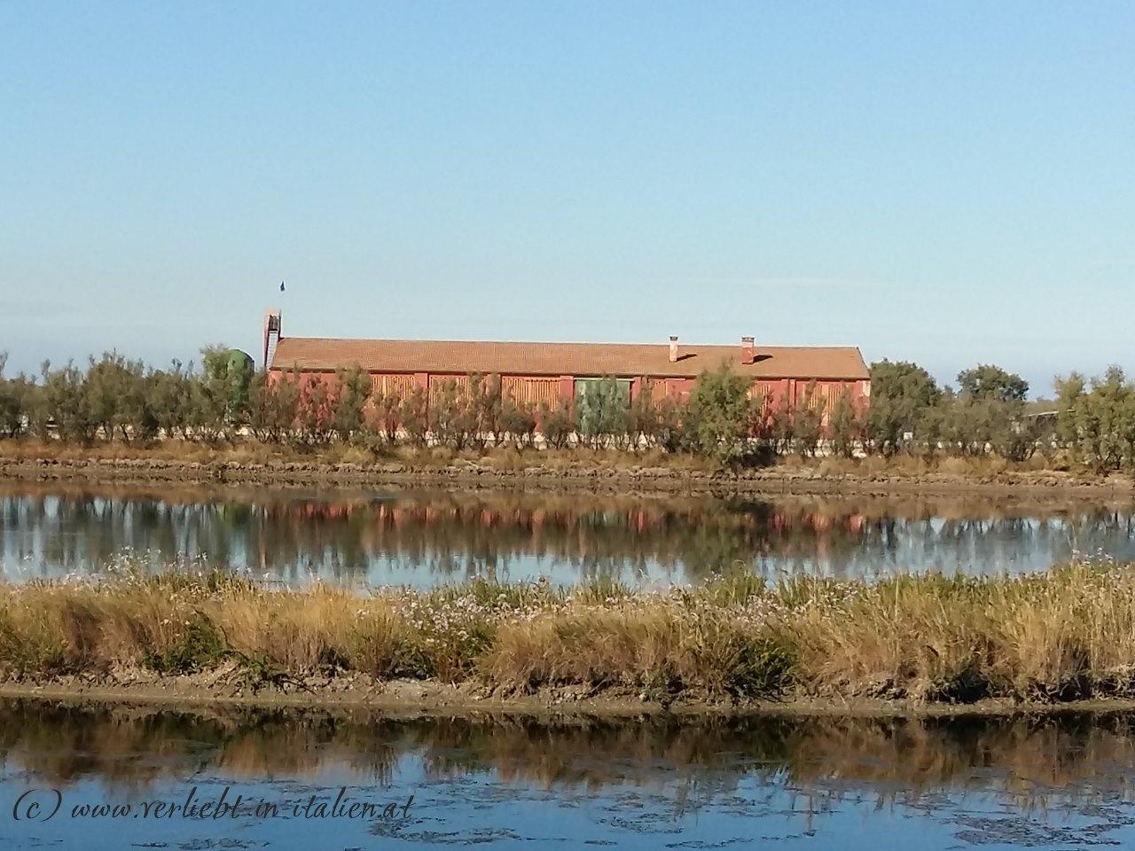 Lagerhalle im Po-Delta