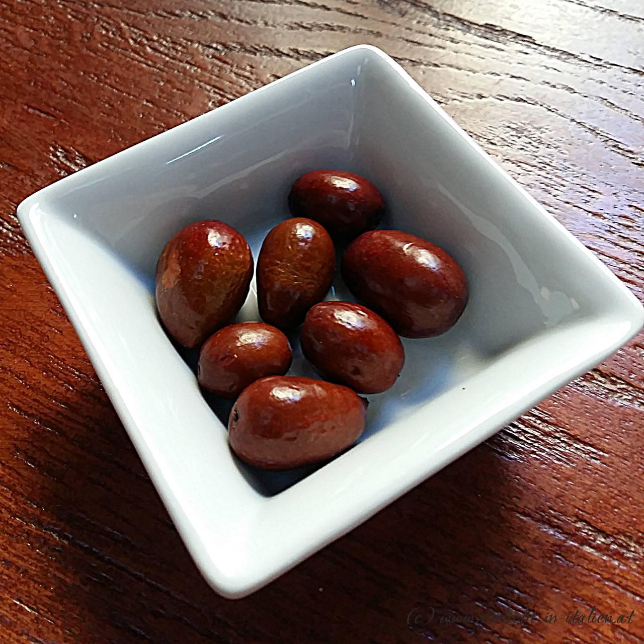 Früchte - keine Oliven!