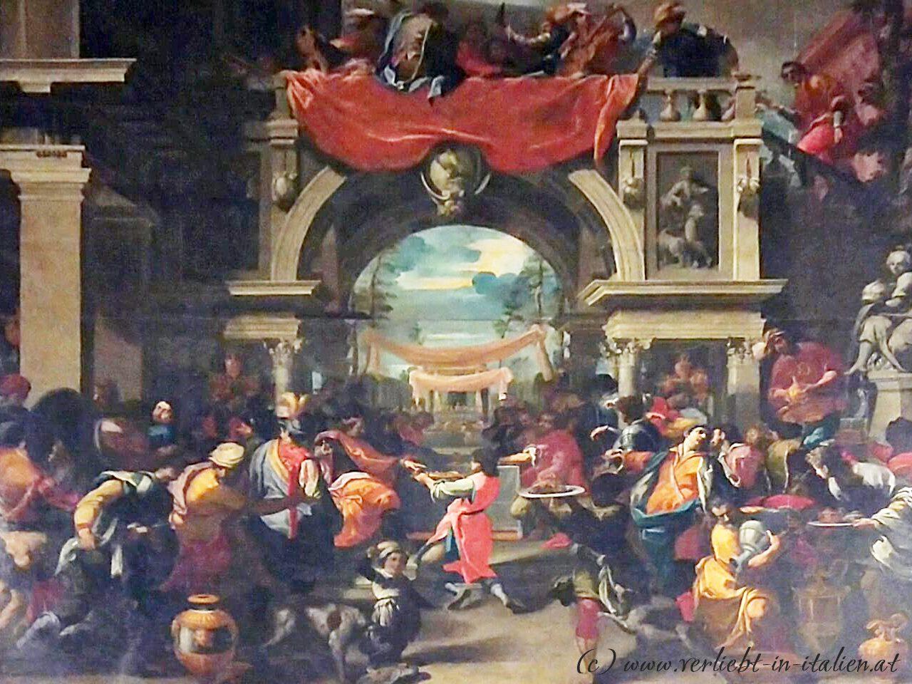 großes Gemälde