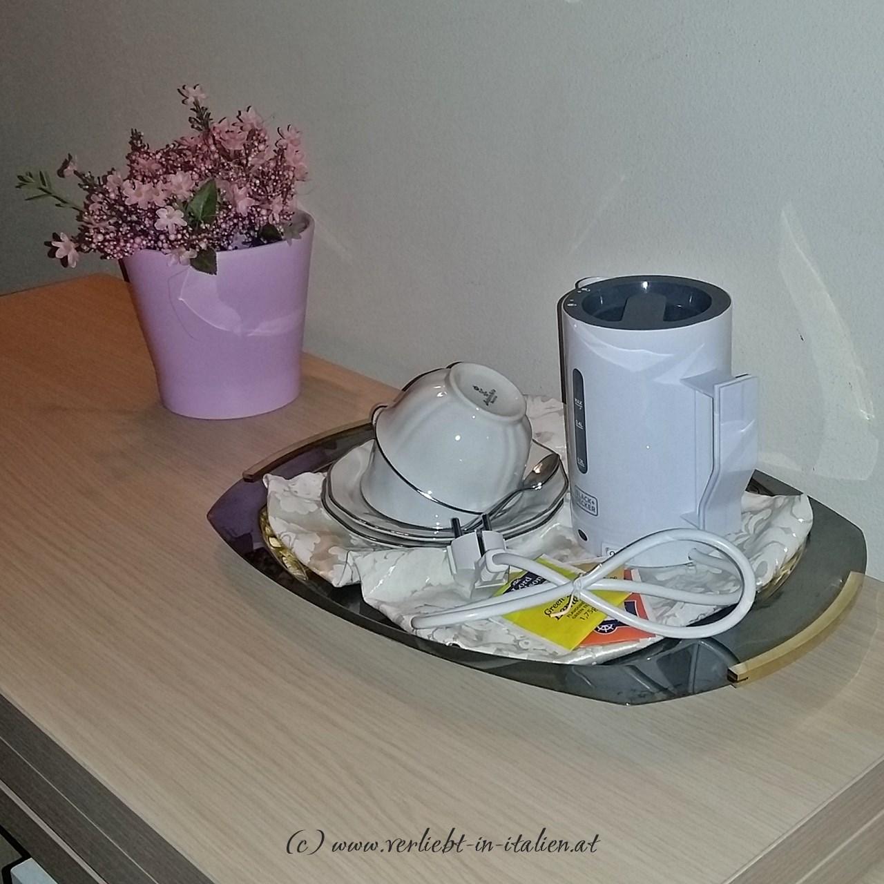 Ich liebe Tee zum Empfang