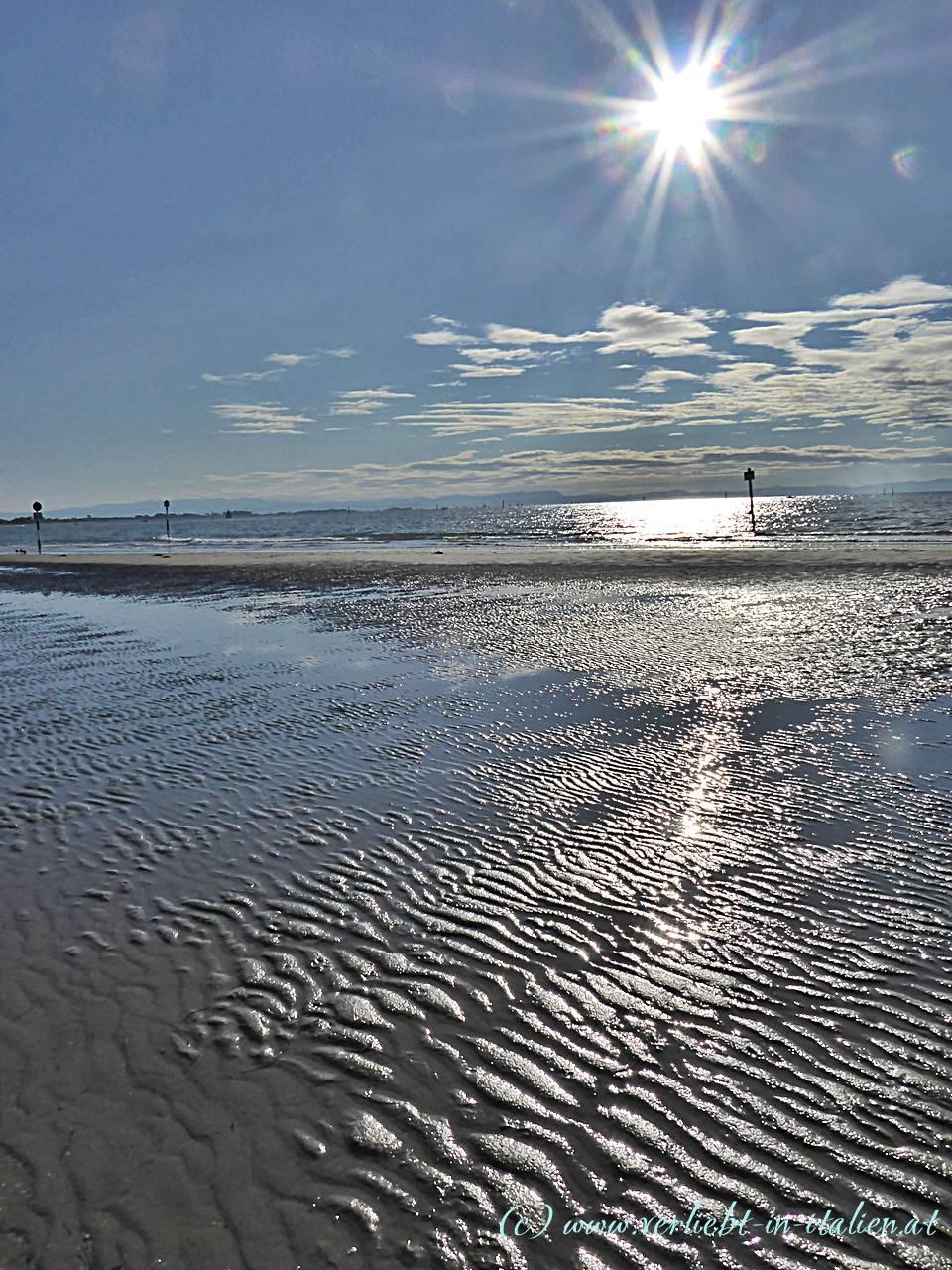 Ich liebe den leeren Strand
