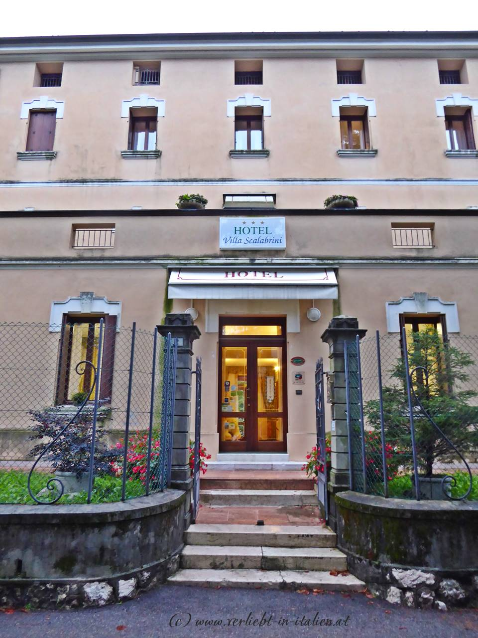 Villa Scalabrini – am Weg zum Monte Grappa