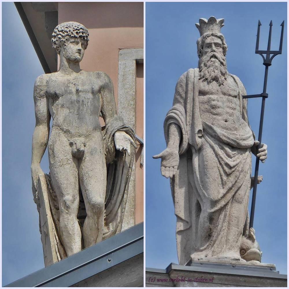 Alte Börse - Figuren