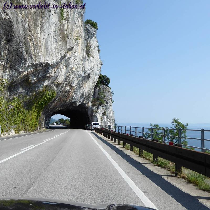 Anreise Tunnel