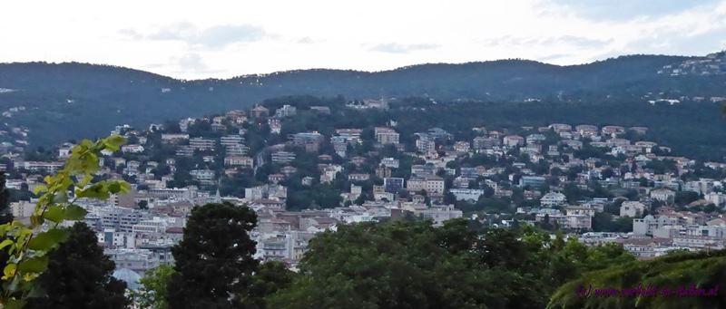 Blick auf die Wohngebiete