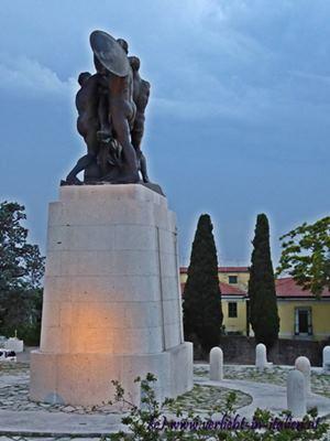 Denkmal bei San Giusto