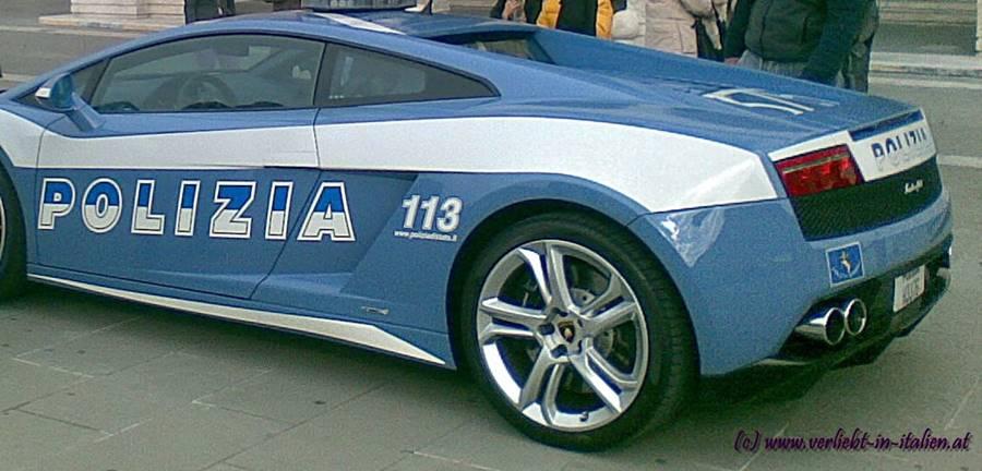Lamborghini di Polizia