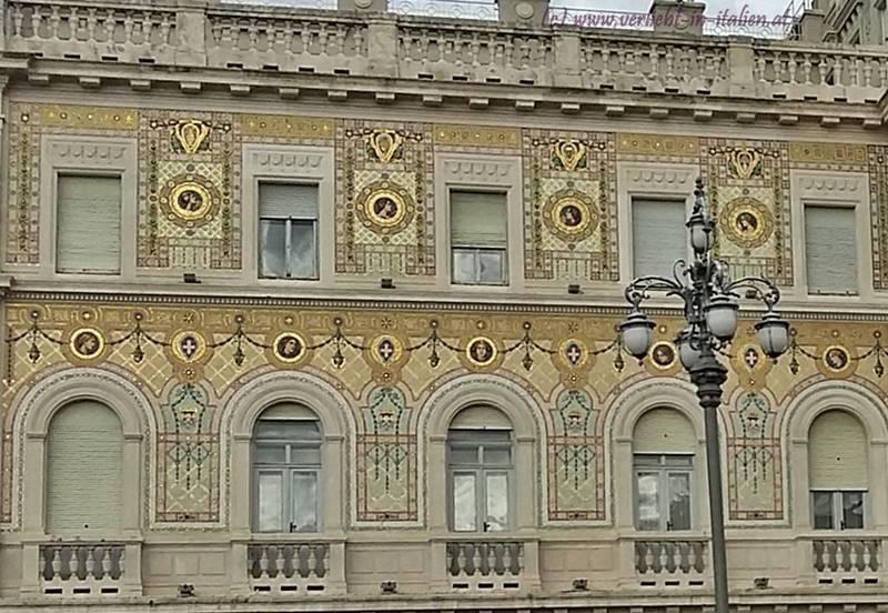 Palazzo del Governo, Fassade Detail