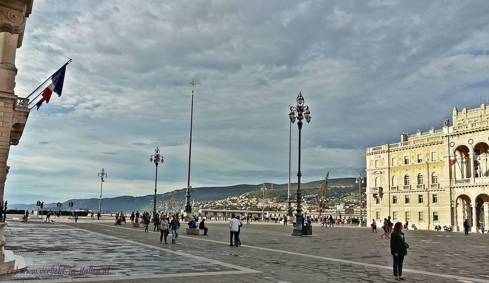 Spaziergang zum Hafen