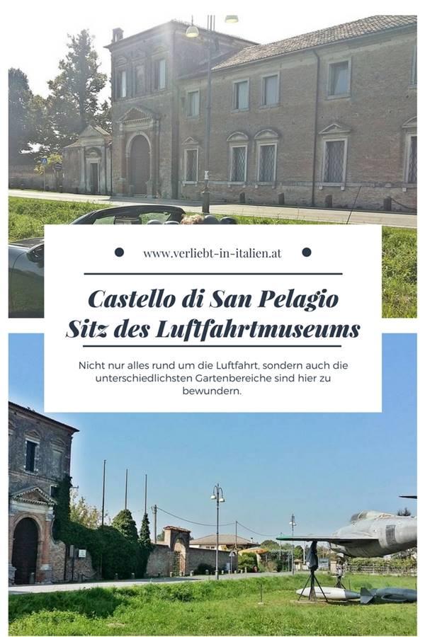 18-Castello di San Pelagio-Luftfahrt