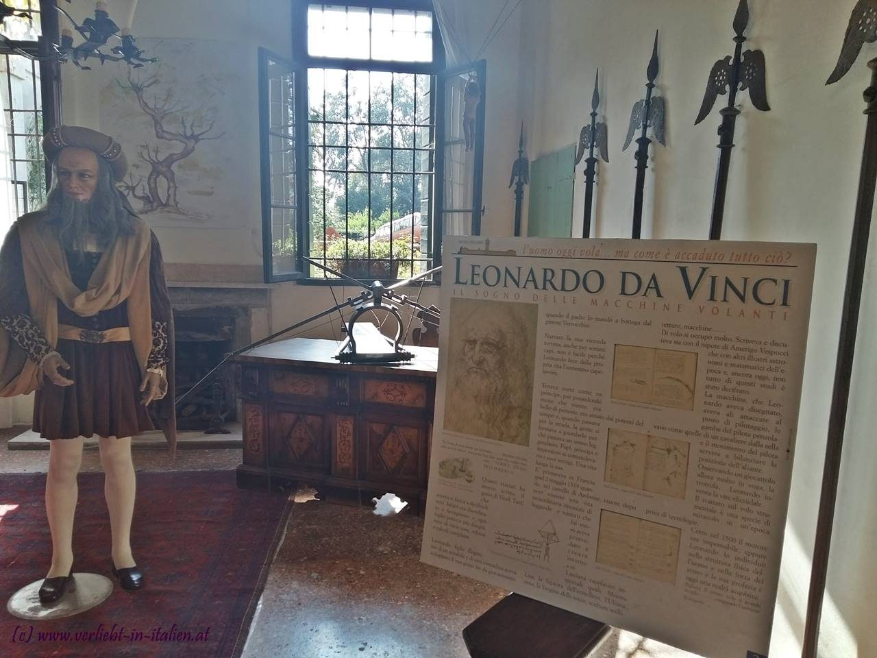 Da Vinci und seine Maschinen