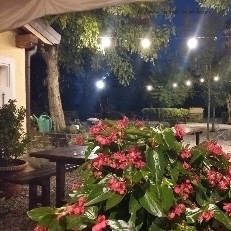 Im Gastgarten