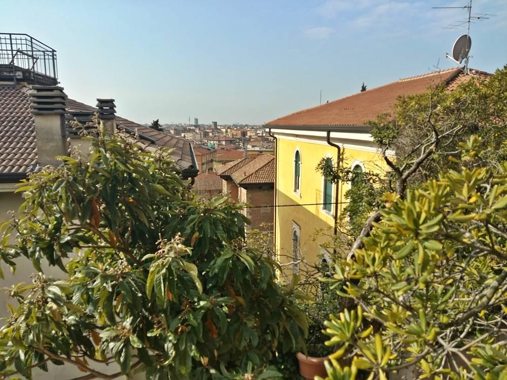 Verona vom Garten aus