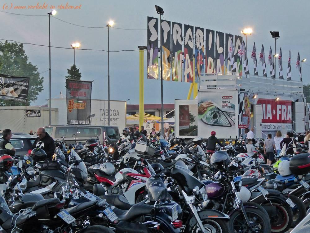 Bike Parkplatz