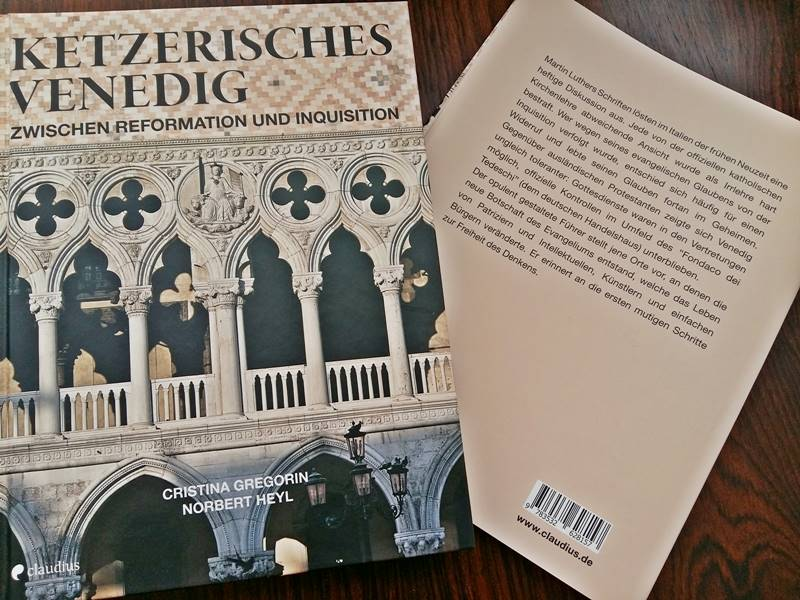 Cover Ketzerisches Venedig