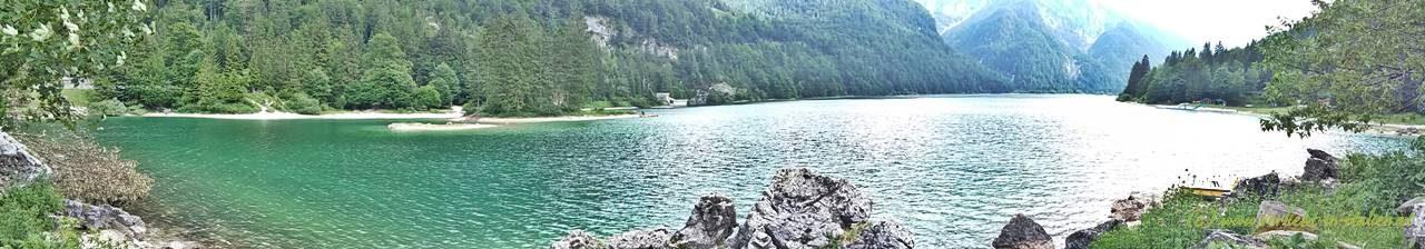 Lago del Predil Panorama