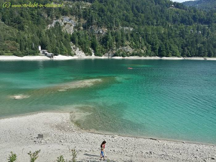 Lago del Predil – Idylle mitten in den Bergen