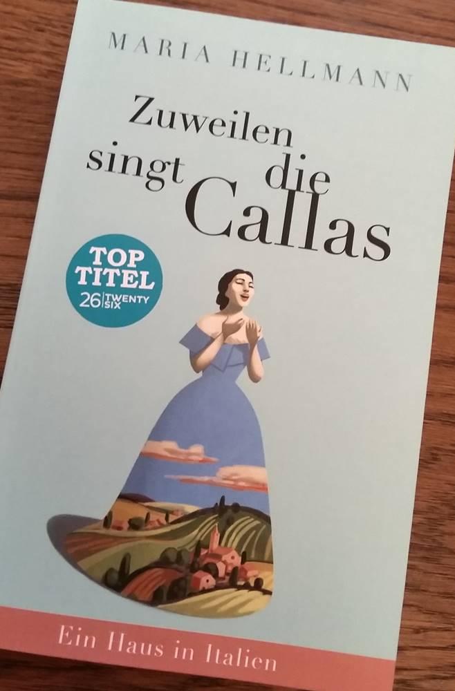 Zuweilen singt die Callas - vorne