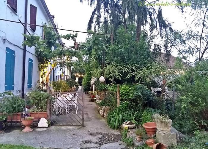 Outdoor-Frühstücksplatz