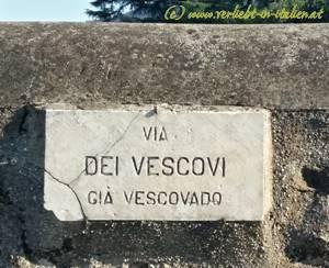 Via dei Vescovi