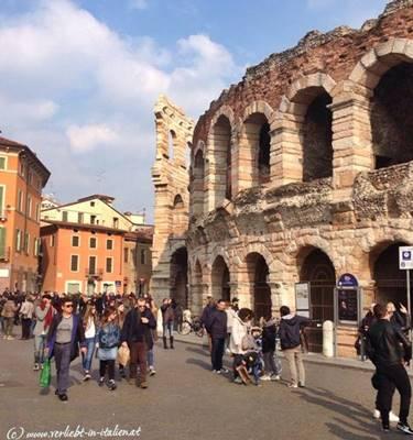 Arena di Verona - ein MUSS bei Touristen