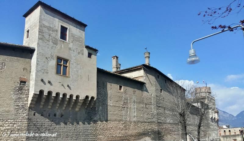 Rückseite Castello Buonconsiglio