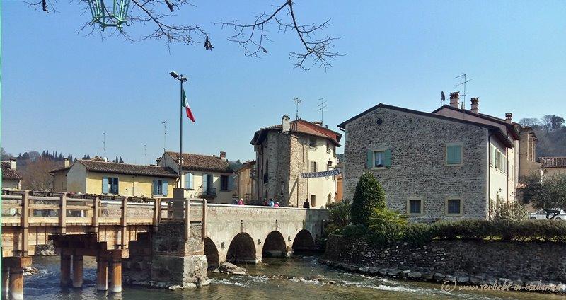 Blick aufs Borghetto