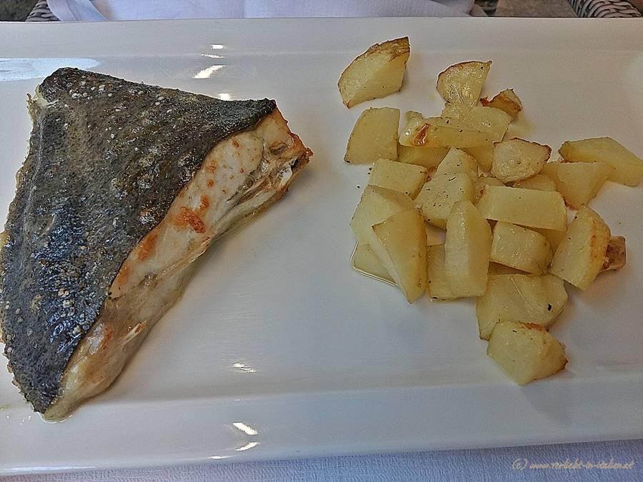 Fisch und Kartoffeln