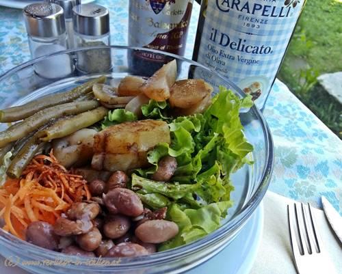 Salat - reichlich und sättigend