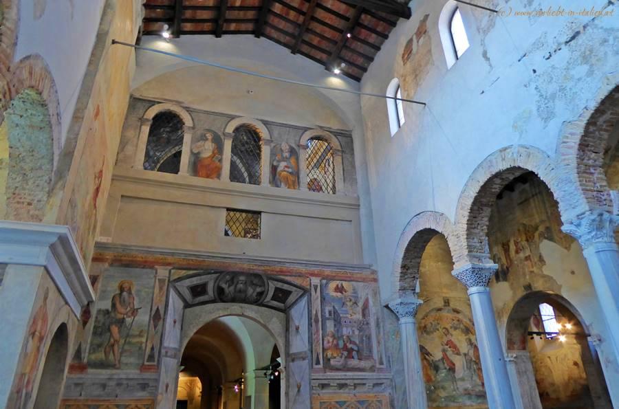 San Salvatore - antiker Speisesaal