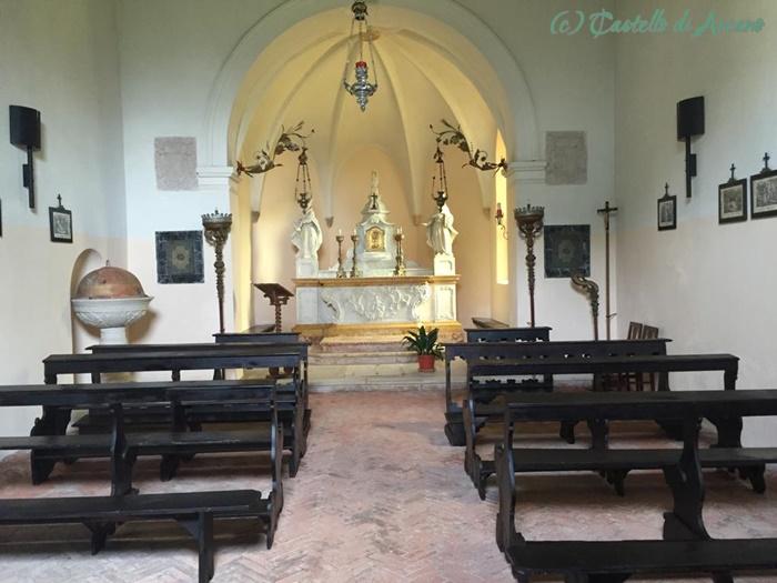Arcano Kirche innen