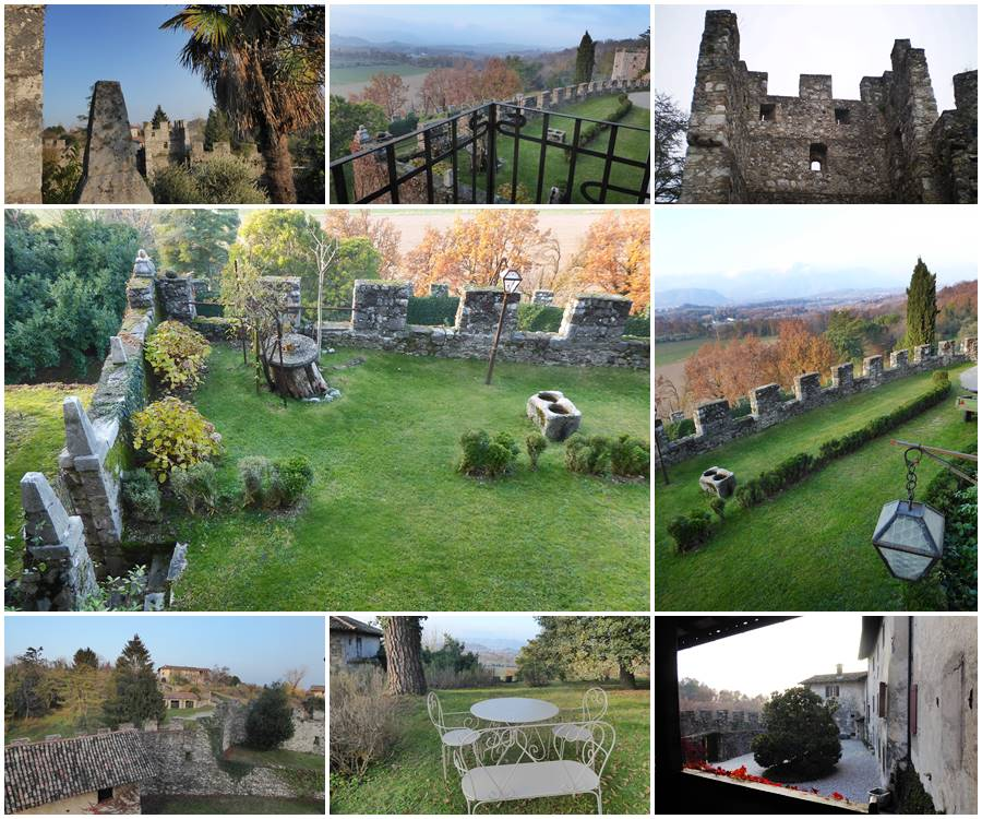 Castello di Arcano Collage