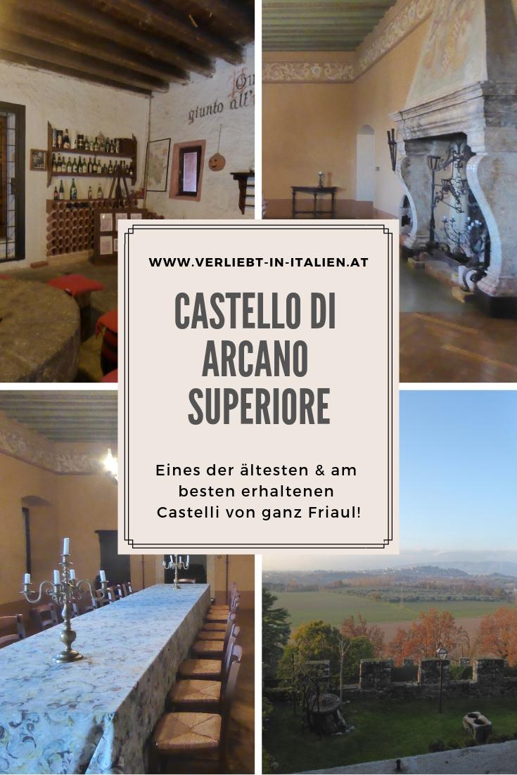 Castello di Arcano auf Pinterest