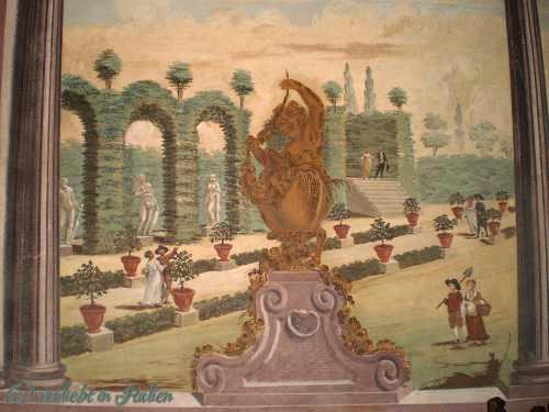Detail Wandmalereien