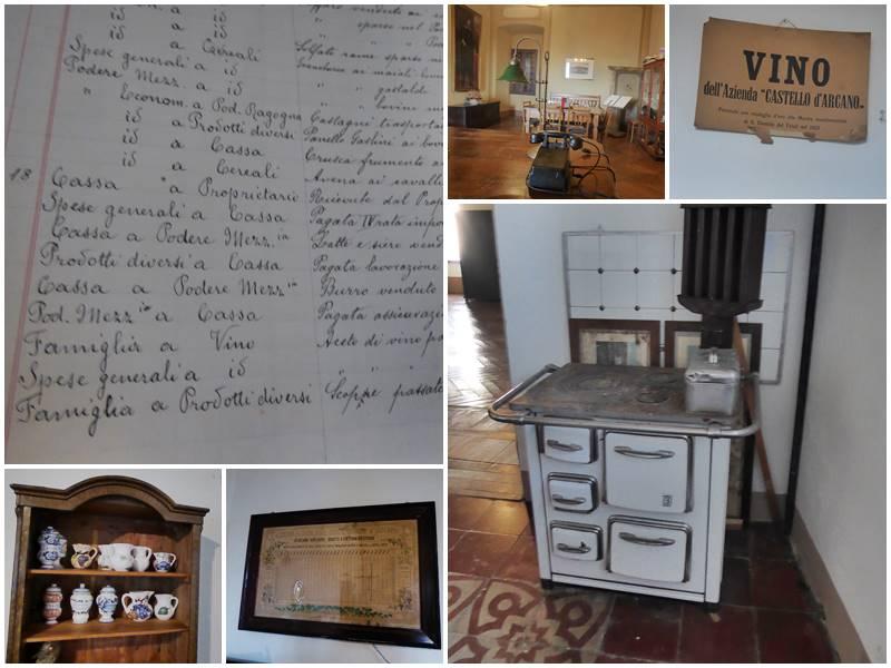 Küche und Büro