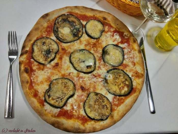 Pizza Melanzane Grana