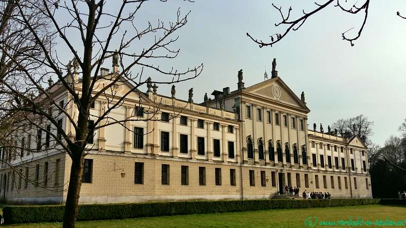 Villa Pisani Gartenseite