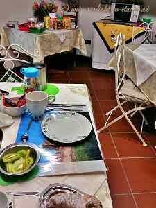 Casa Stefy Frühstücksraum