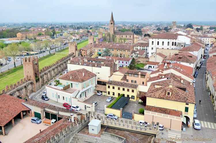 Montagnana mit Arena