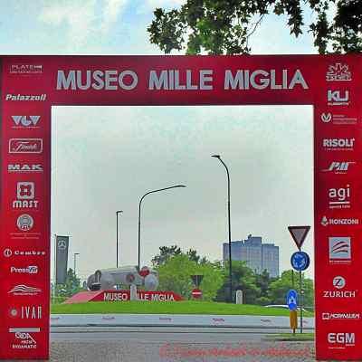 Ausfahrt Mille Miglia Museum