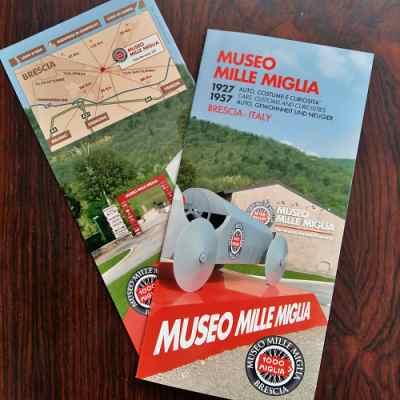 Folder Mille Miglia Museum